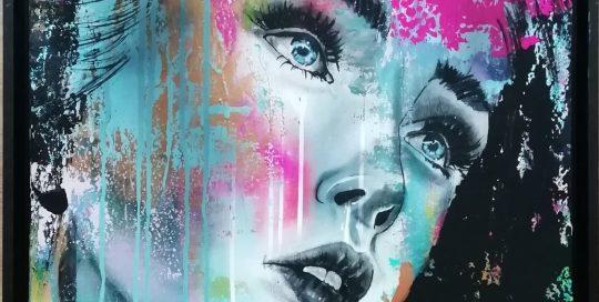 Femke Kock - vrouwen portret geïnspireerd door Tom Waits
