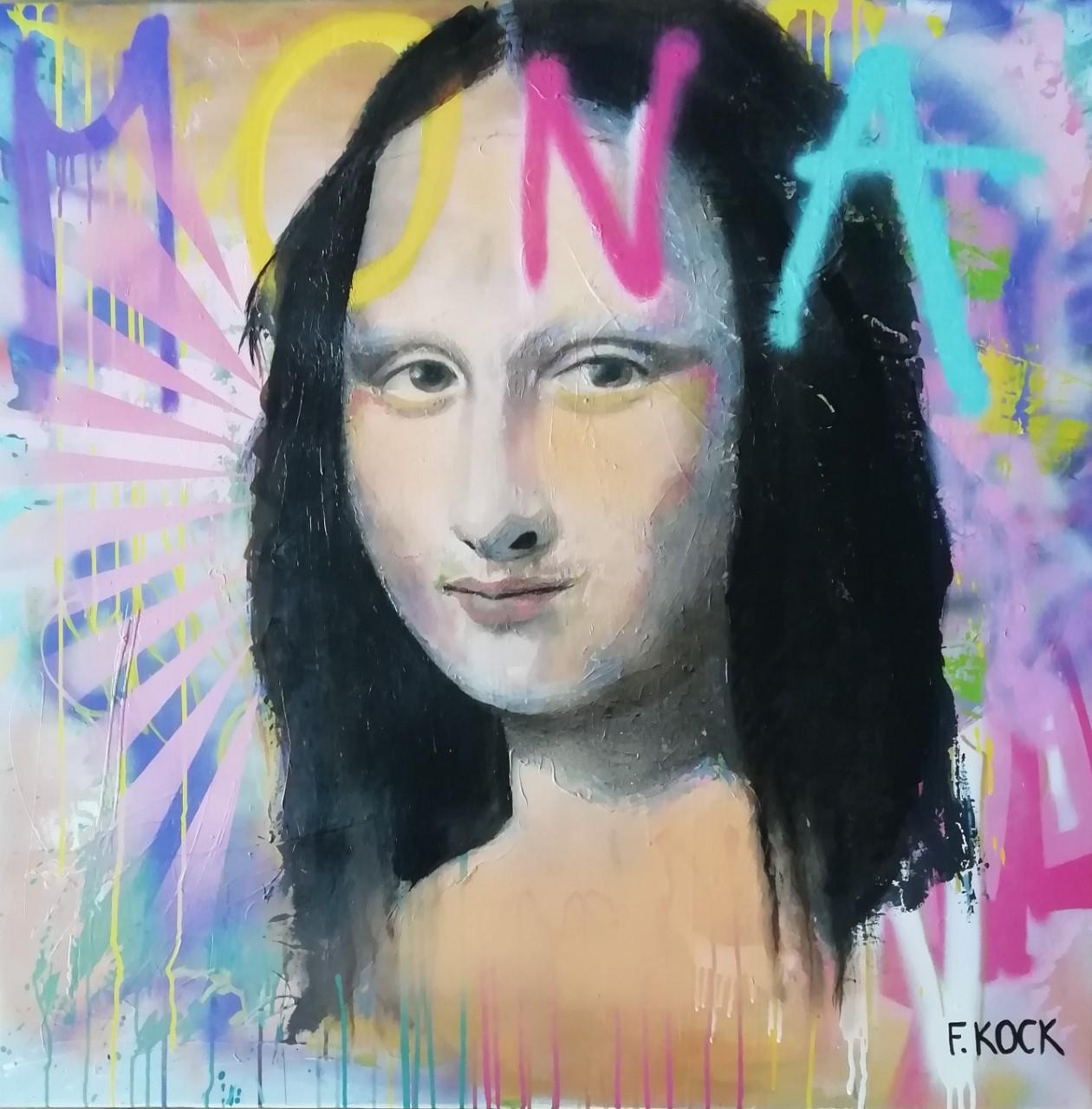 Femke Kock- Mona Lisa naar Leonardo da Vinci