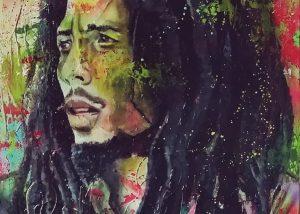 Bob Marley Art